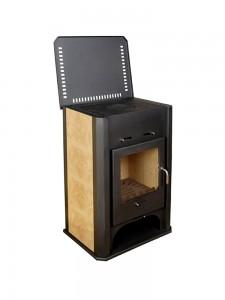 купить печь бавария с плитой и теплообменником