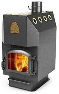 Печь Термофор инженер с чугунной дверцей На угле