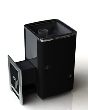 Печь для бани Грейвари 18 INOX стандарт с теплообменником
