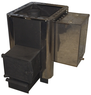 Печь для бани Берёзка 15 (бак 35л) лево/право
